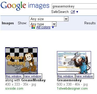greasemonkey - google images relinker (v 2.0)