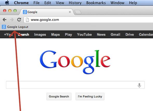Google Logout