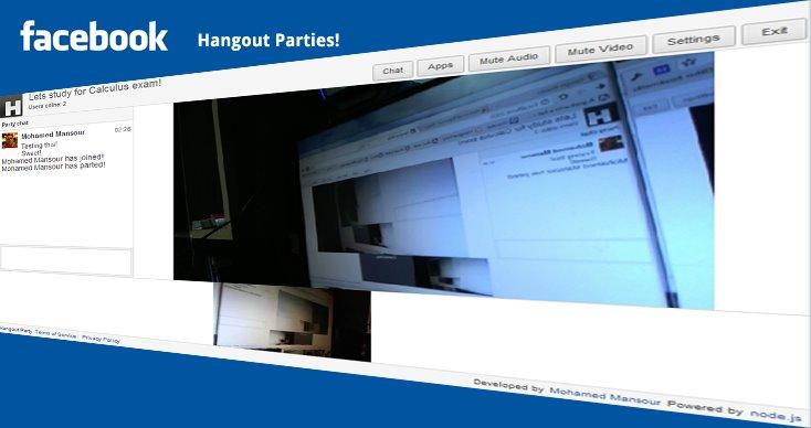 Facebook Video Hangouts