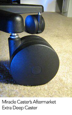 Aeron Hardwood vs Carpet Casters