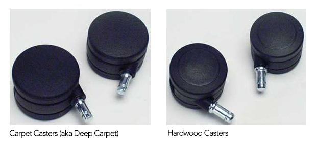 Aeron Chair Hardwood vs Carpet Casters