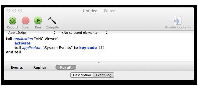 How to send F2, F8, F9, F12 to a VNC Remote PC from Mac OS X